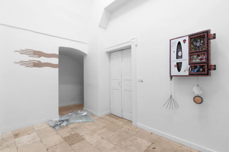 First I Have To Put My Face On curated by Christina Gigliotti organized by Like a Little Disaster